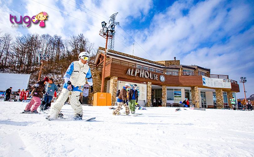 Elysian Gangchon Ski Resort được biết đến là một khu phức hợp giải trí sang trọng hàng đầu ở Seoul
