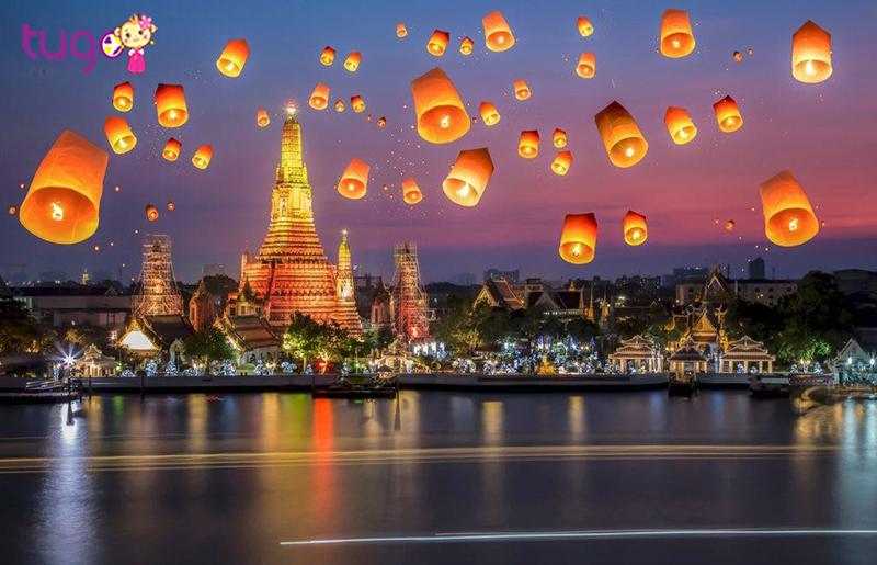 Thái Lan là một đất nước bạn không thể bỏ qua khi đi du lịch