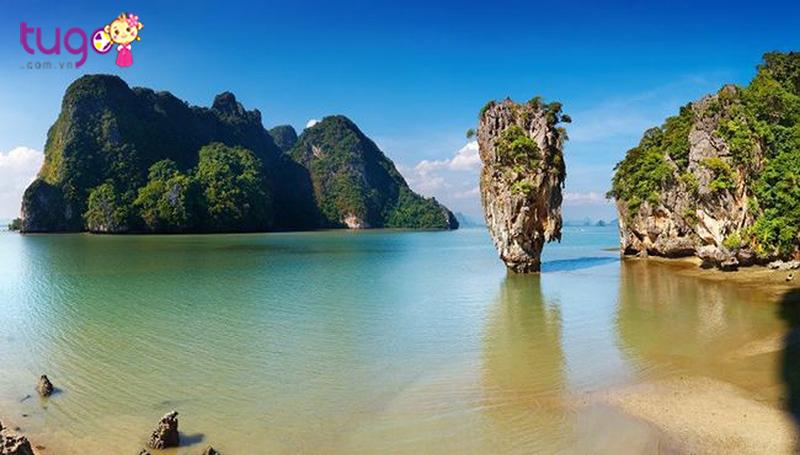 Phang Nga là một trong những vịnh đẹp và nổi tiếng trên thế giới