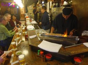 Bạn có thể thoải mái ăn uống ở Ebisu