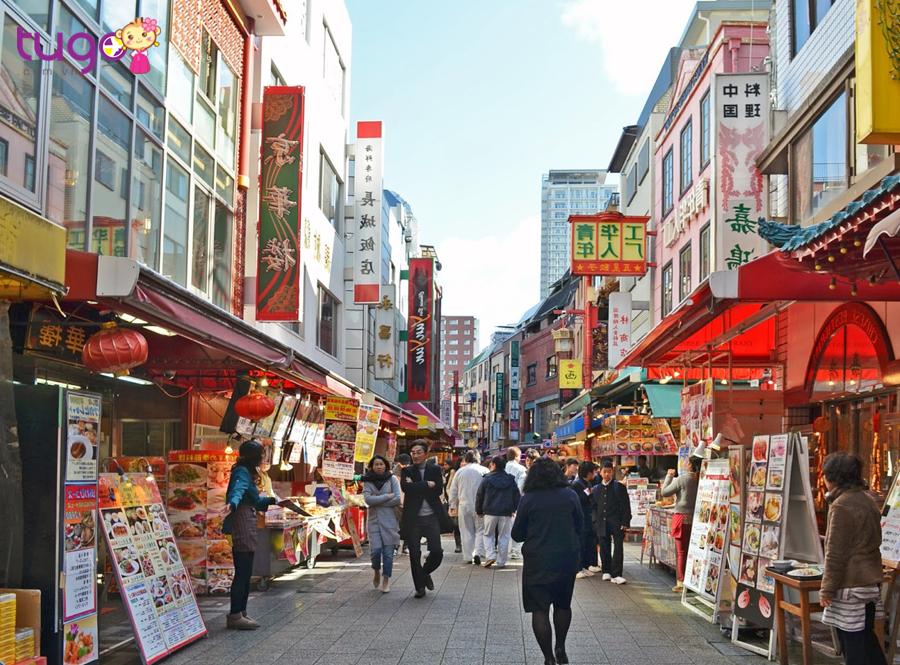 Khu phố Nankin nhiều màu sắc Trung Hoa