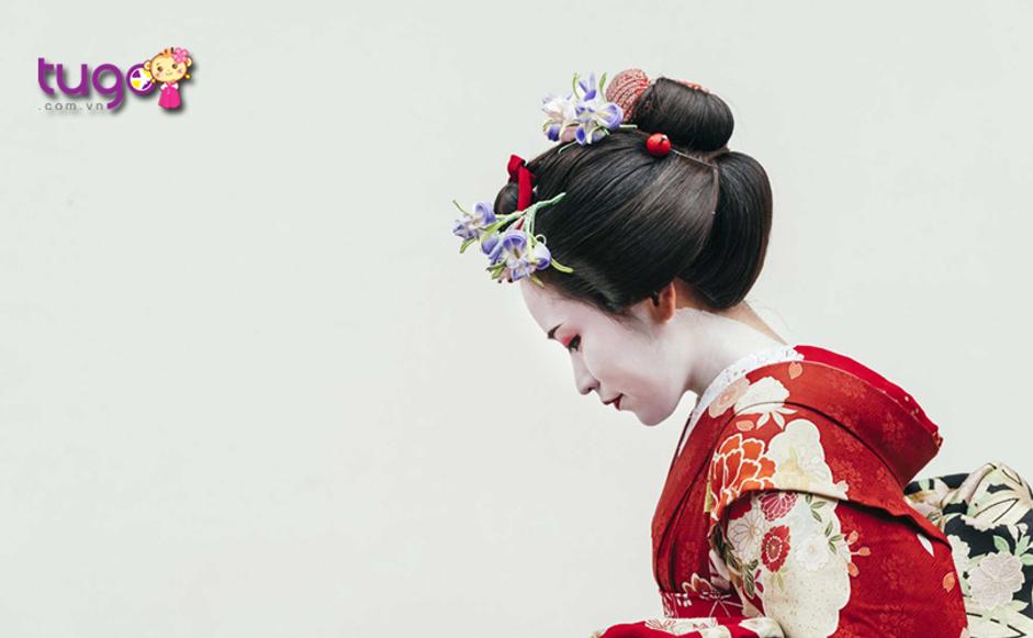 Geisha cũng là một nét đặc trưng tiêu biểu khi nhắc đến đất nước Nhật Bản