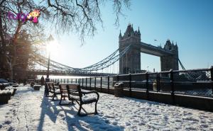 Giữa trời đông lạnh giá, có một London yên bình và thơ mộng thế này đây...