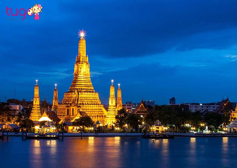 Bangkok là thủ đô sầm uất nhất của Thái Lan