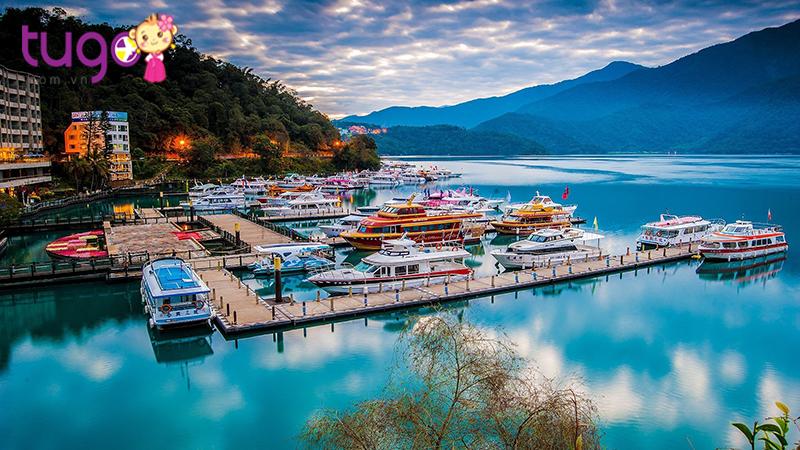 Cảnh đẹp tại Nhật Nguyệt Đàm - hồ nước tự nhiên lớn nhất Đài Loan