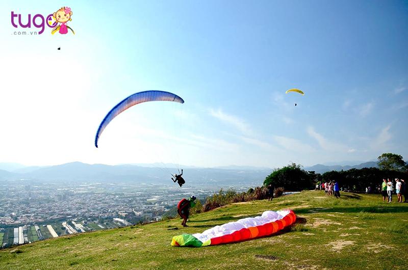 Nhảy dù ở Puli, Nantou là trải nghiệm này dành cho bạn nào thích cảm giác mạnh