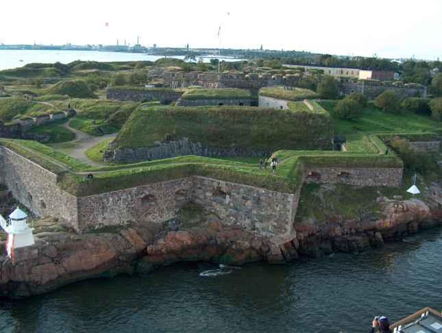 Kết quả hình ảnh cho Pháo đài Suomenlinna