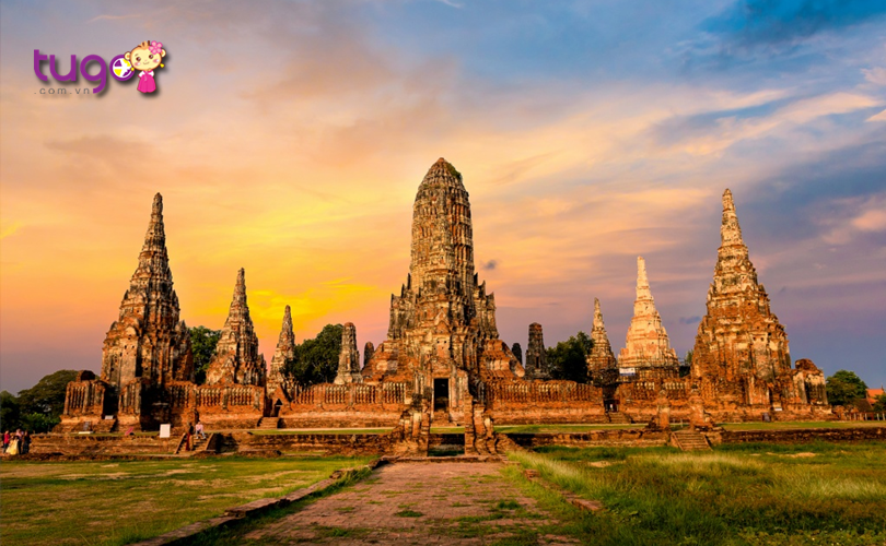 Hiện nay, cố đô Ayutthaya vẫn còn lưu giữ những nét kiến trúc độc đáo của nền văn hóa Thái Lan cổ xưa