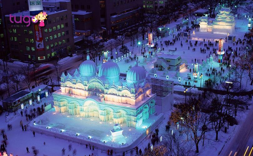 Hokkaido là một trong những điểm đến tuyệt vời nhất khi du lịch Nhật Bản mùa đông