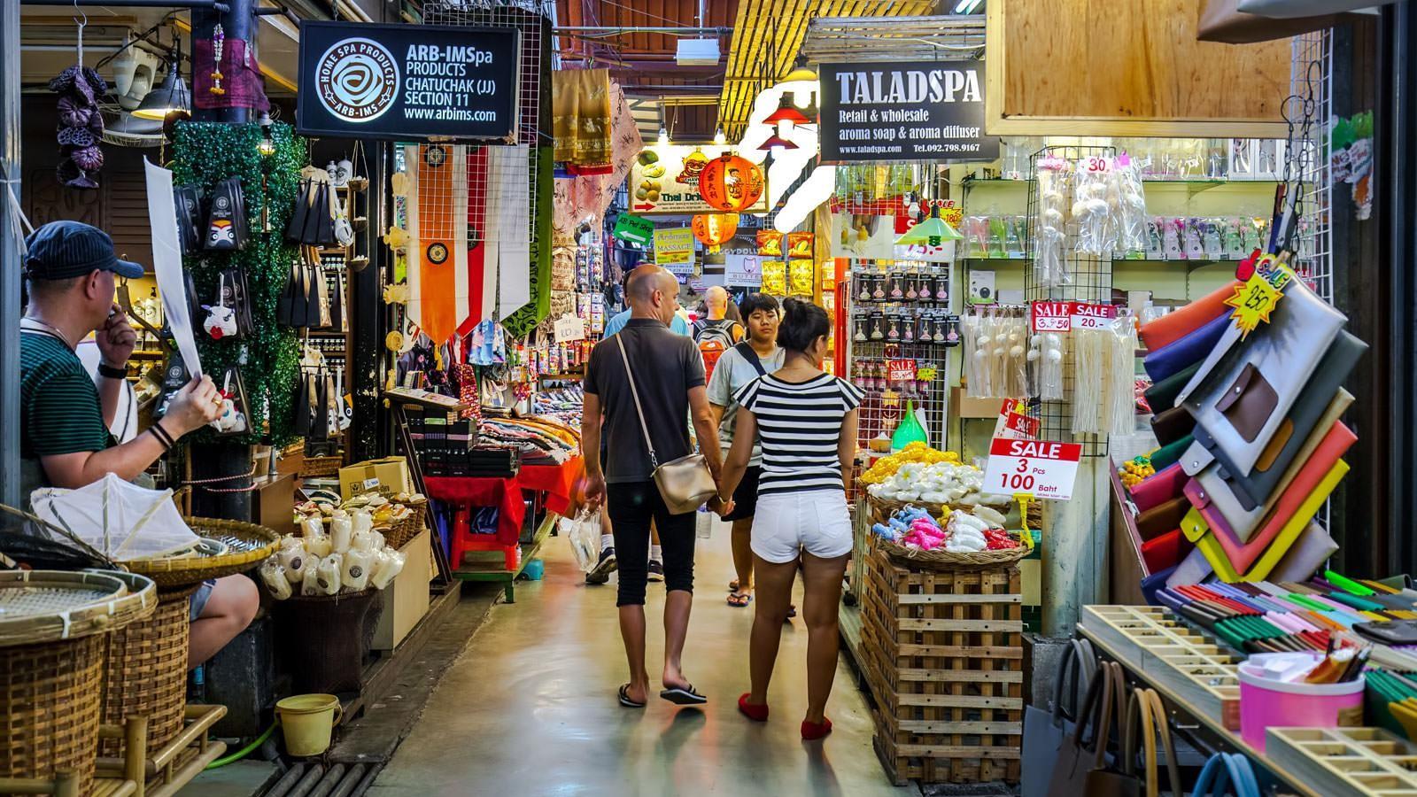 Khu chợ truyền thống Chatuchak