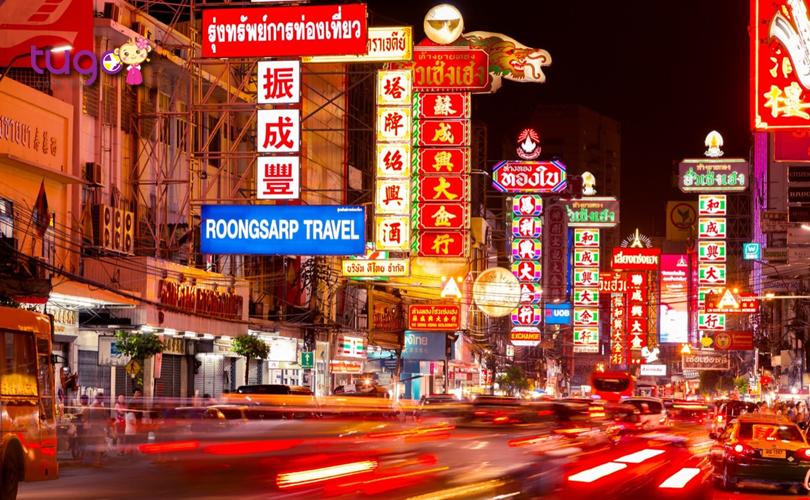 """Khu phố người Hoa được mệnh danh là """"thiên đường"""" giải trí ở Thái Lan với nhiều khu ăn uống và giải trí hấp dẫn"""