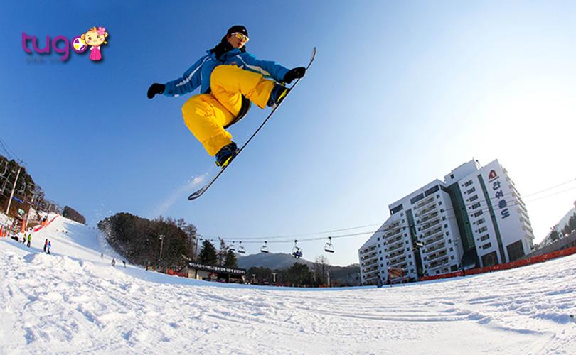 Khu trượt tuyết Bearstown, địa điểm lý tưởng cho những vận động viên trượt tuyết chuyên nghiệp