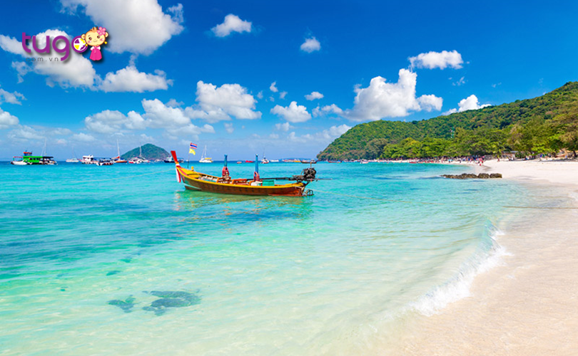 Khung cảnh thiên nhiên quyến rũ tại bãi biển Pattaya
