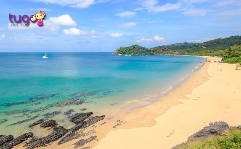 Khung cảnh thiên nhiên yên bình ở đảo Koh Lanta
