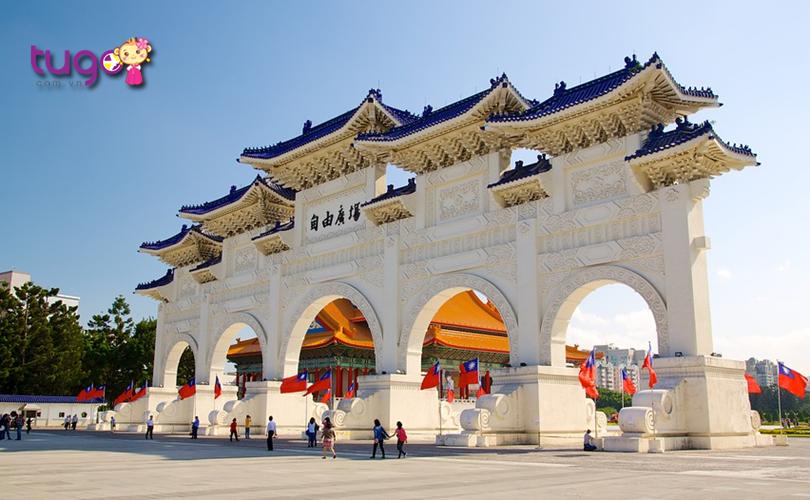 Kiến trúc đẹp mắt tại khu tưởng niệm vị lãnh tụ Tưởng Giới Thạch