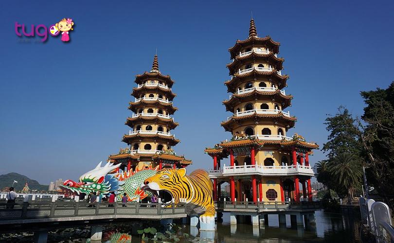 Kiến trúc độc đáo của ngôi đền Long Hổ