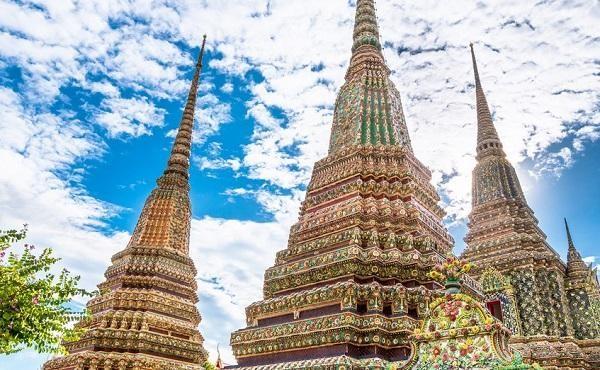 Kiến trúc độc đáo tại chùa Wat Pho