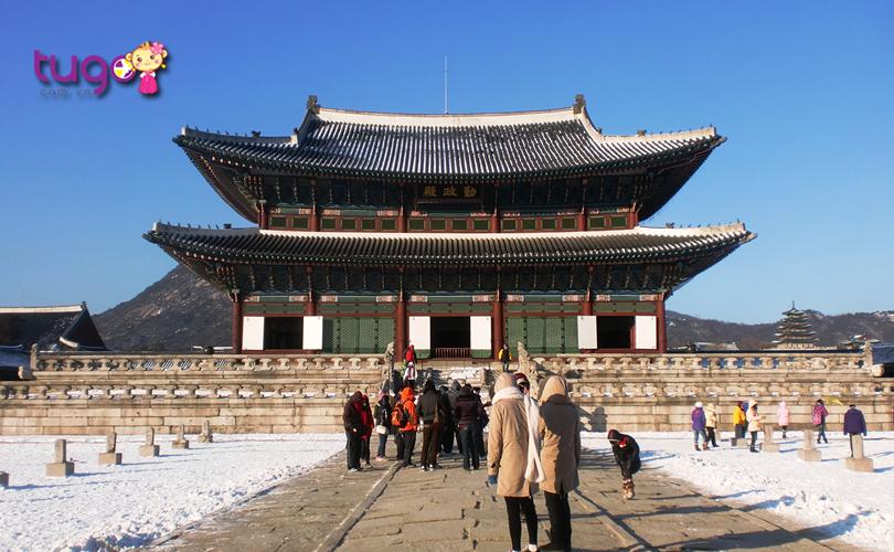 Kiến trúc độc đáo và đẹp mắt của cung điện Gyeongbokgung