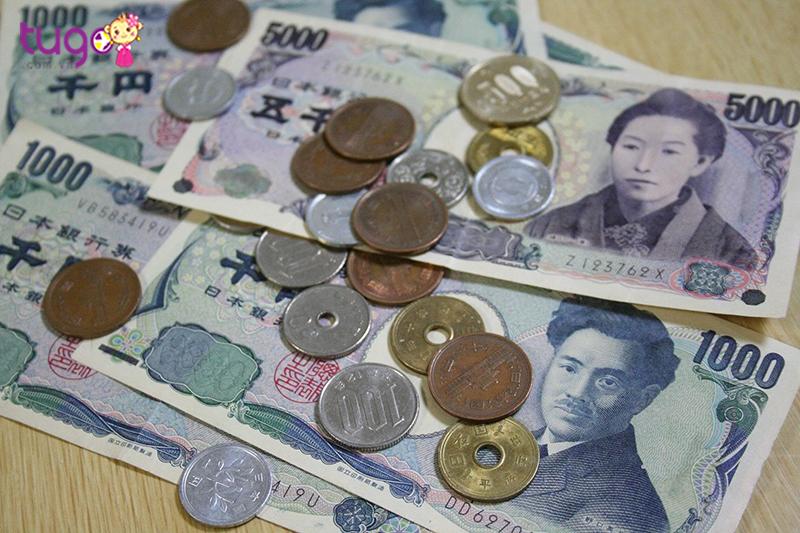 Bạn nhớ chuẩn bị tiền tệ khi đến thăm Nhật Bản