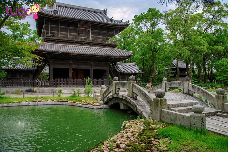 Shofuku-ji là một ngôi chùa Thiền thành lập năm 1195