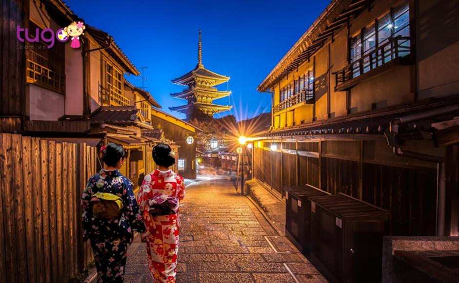 Kyoto được biết đến là một thành phố cực kì an toàn cho khách du lịch
