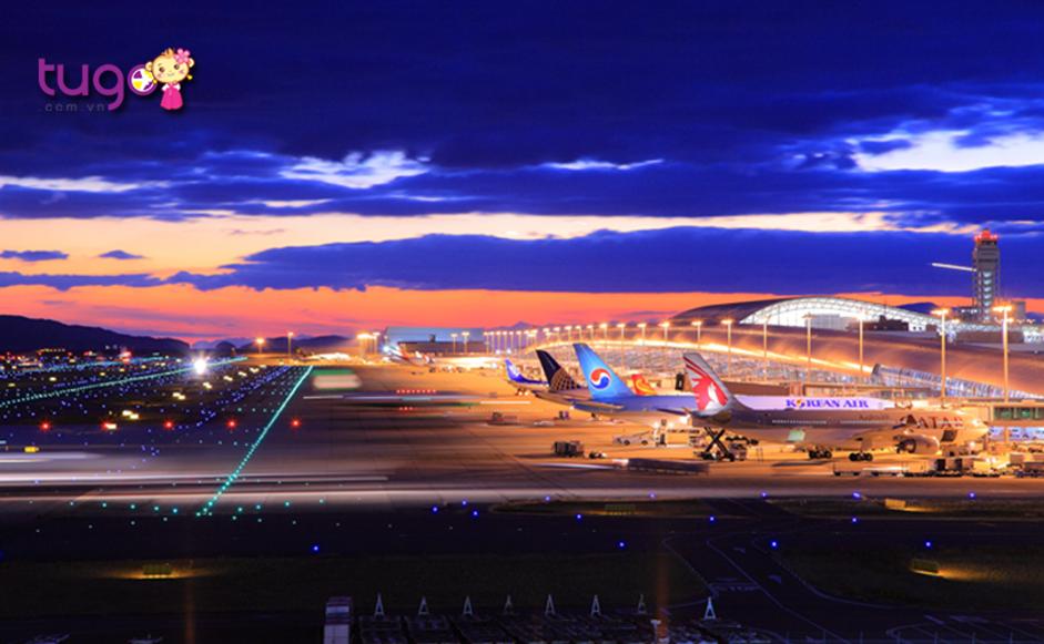 Kyoto khá gần với Sân bay Quốc tế Kansai ở Osaka