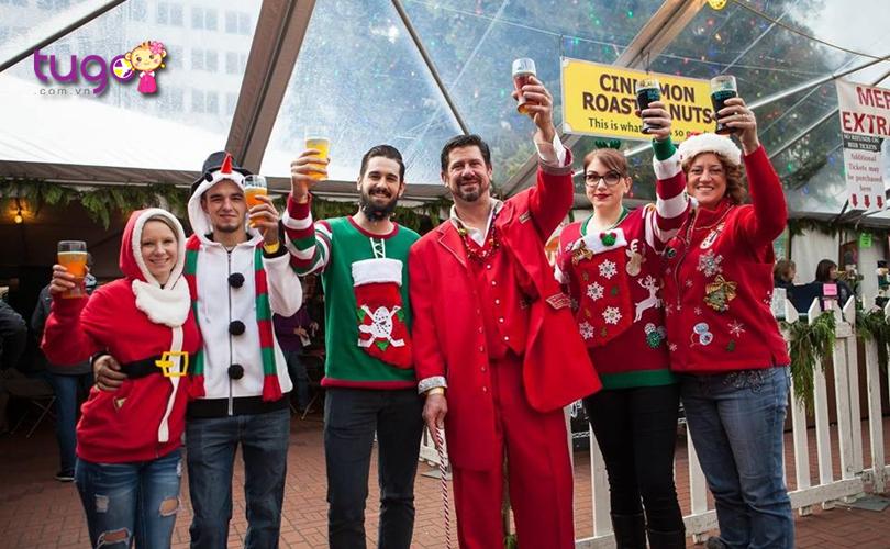 Lễ hội Holiday Ale Festival là một sự kiện hấp dẫn ở Portland trong tháng 12 hàng năm