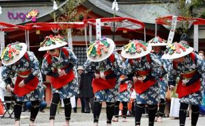 Lễ hội Otaue cũng là một trong những lễ hội truyền thống đặc sắc nhất ở Nhật Bản vào mùa xuân mà du khách không nên bỏ lỡ
