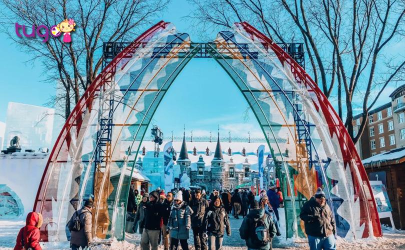 Lễ hội carnival ở thành phố Quebec là một trong những lễ hội mùa đông lớn nhất thế giới hiện nay