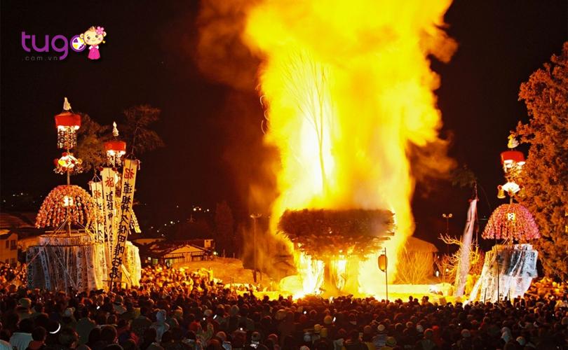 Lễ hội lửa Nozawa