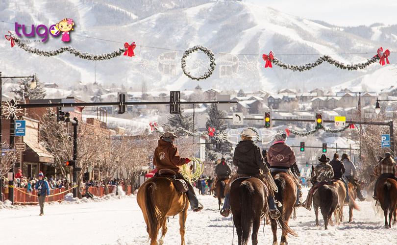 Lễ hội mùa đông ở Steamboat Springs, Colorado còn là một sự kiện hấp dẫn để cả gia đình cùng tham gia và tận hưởng mùa đông nước Mỹ
