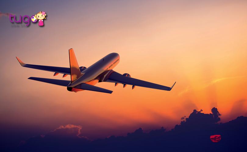 Máy bay là phương tiện di chuyển phổ biến và tiện lợi hàng đầu khi du lịch đến Đài Loan