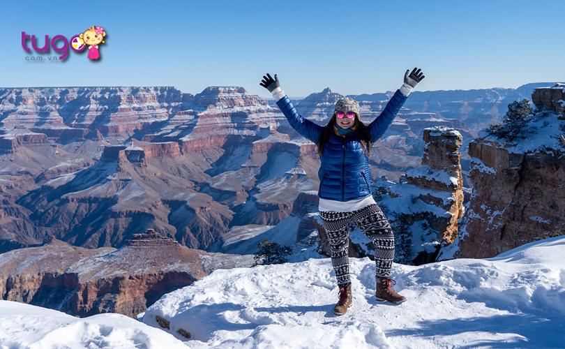 Mùa đông nước Mỹ luôn hấp dẫn với nhiều trải nghiệm thú vị dành cho các du khách