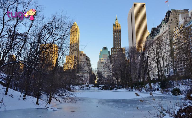 Mùa đông nước Mỹ luôn nổi tiếng với khung cảnh tuyết trắng bao phủ