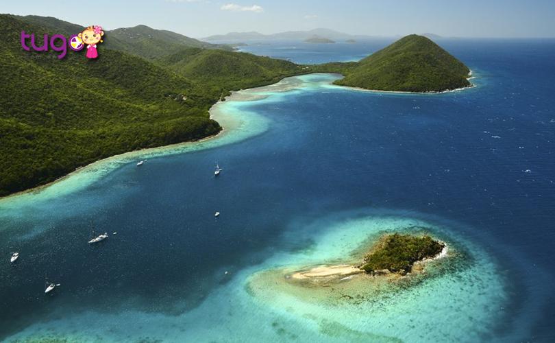 Mặc dù đang là mùa đông nhưng ở quần đảo Virgin có thời tiết rất ấm áp và dễ chịu