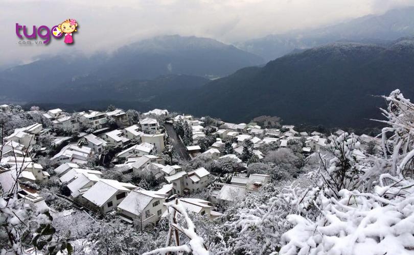 Một số tỉnh thành phía Bắc ở Đài Loan sẽ có tuyết rơi vào mùa đông