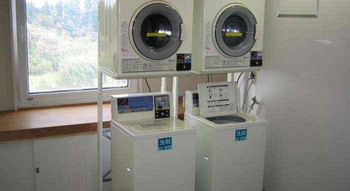 Phòng giặt ủi.