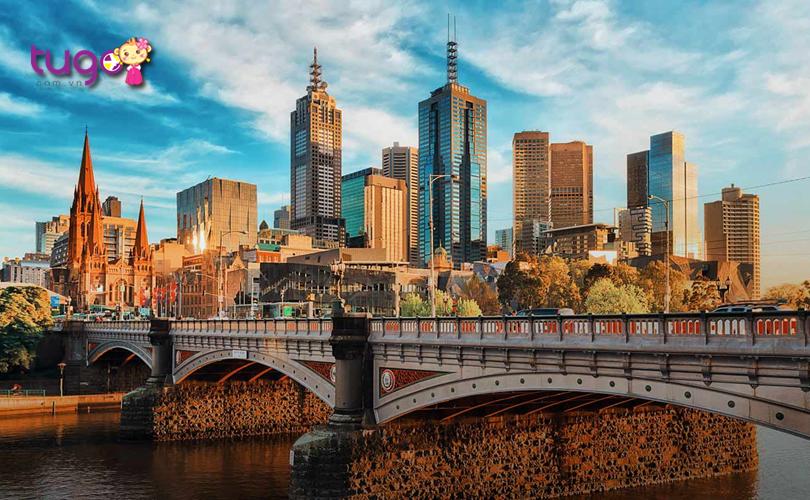 Melbourne - Một trong những thành phố đáng sống nhất thế giới hiện nay
