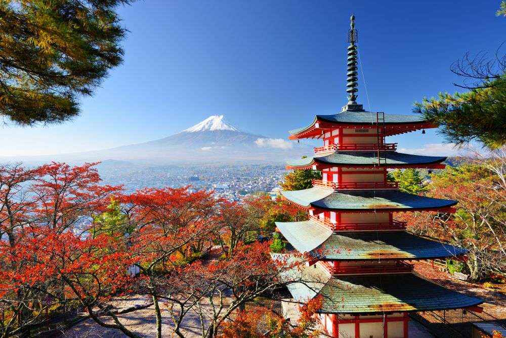 Nhật Bản là thiên đường du lịch bốn mùa