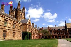 Kiến trúc trường học cổ điển tại Úc