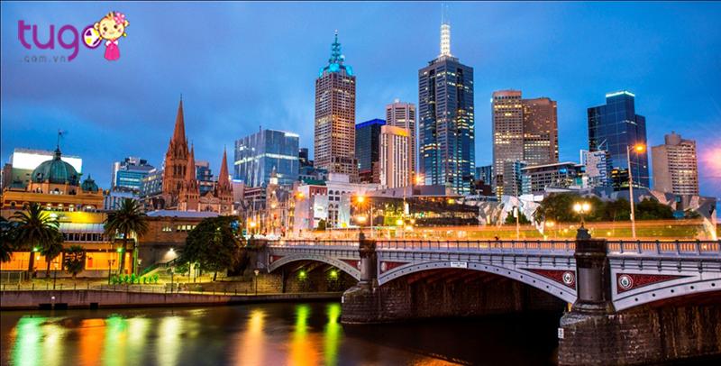 Thành phố Melbourne của Úc