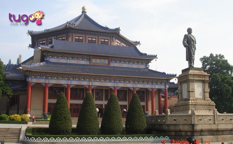 Nét kiến trúc đẹp mắt, tinh xảo của khu tưởng niệm Tôn Trung Sơn