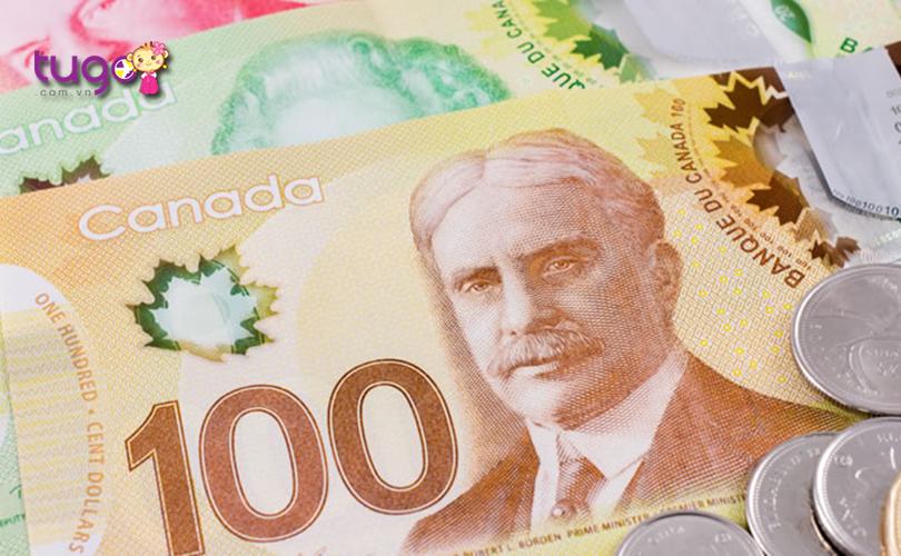 Nên đổi sang một ít tiền Canada để tiện cho việc mua sắm, chi tiêu khi du lịch nơi đây