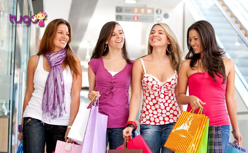 """Nước Mỹ là một """"thiên đường"""" mua sắm chính hiệu với nhiều trung tâm mua sắm sầm uất cùng nhiều khu chợ địa phương hấp dẫn"""
