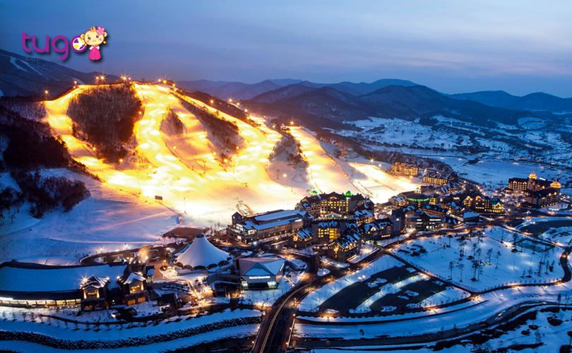Nếu bạn là người yêu thích môn trượt tuyết thì hãy đến ngay Gangwon - khu trượt tuyết nổi tiếng bậc nhất tại xứ sở Kim Chi
