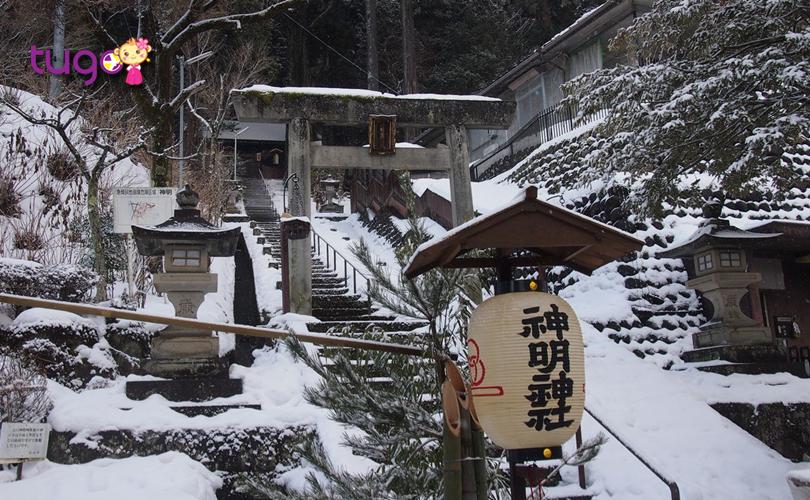 Nếu bạn muốn chiêm ngưỡng những cảnh sắc mùa đông tuyệt đẹp thì có thể đến các tỉnh phía Bắc Nhật Bản trong tháng 2 này...