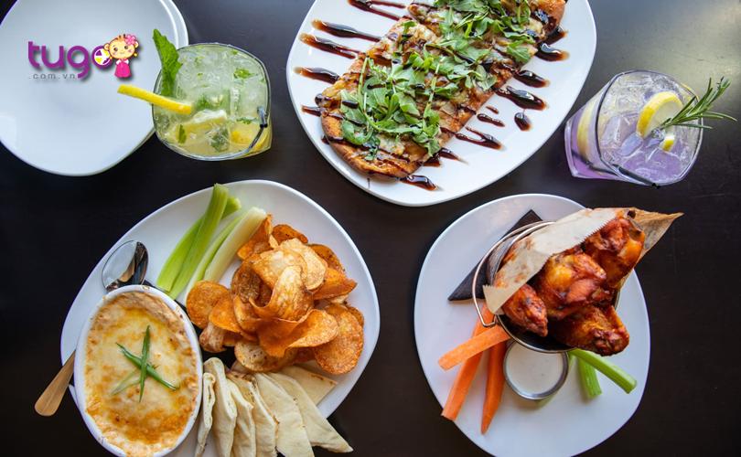 Nền ẩm thực Mỹ vô cùng phong phú với sự kết hợp của nhiều tinh hoa ẩm thực trên thế giới