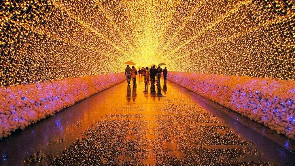 TOUR NHẬT BẢN 5N5D (MÙNG 1): NARITA-TOKYO–ANH ĐÀO KAWAZU–NABANOSATO–KYOTO– OSAKA(TG)