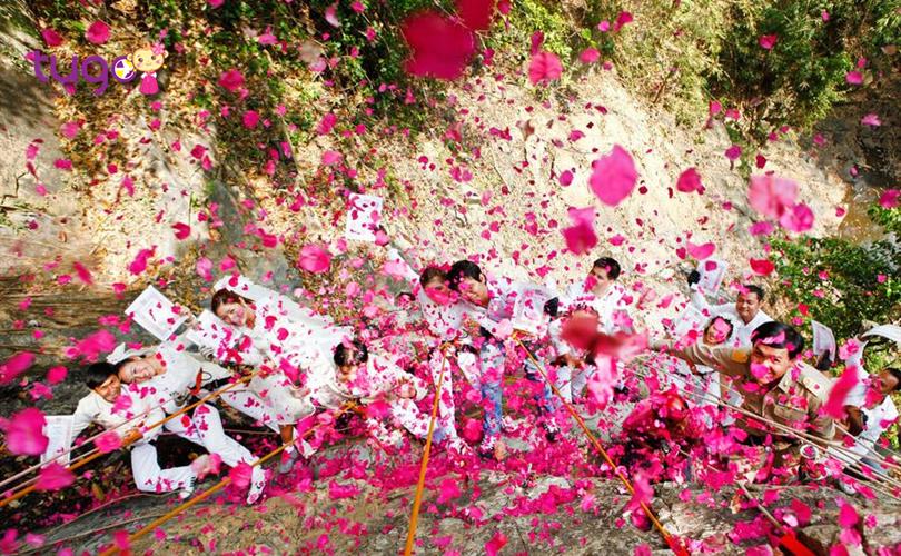 Những cánh hoa hồng rực rỡ sẽ là minh chứng tình yêu cho các cặp đôi vào ngày lễ 14/2
