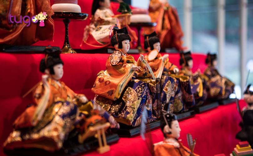 Những con búp bê xinh xắn trong lễ hội Hinamatsuri
